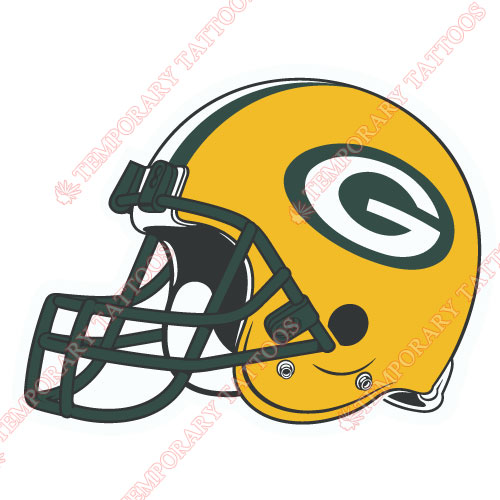 Green Bay Packers Customize Temporary Tattoos Stickers NO.529