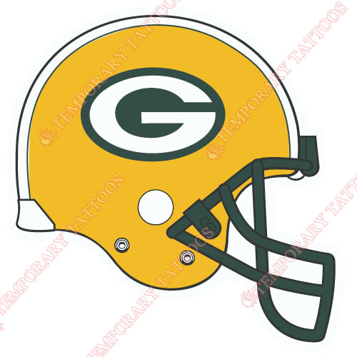 Green Bay Packers Customize Temporary Tattoos Stickers NO.530