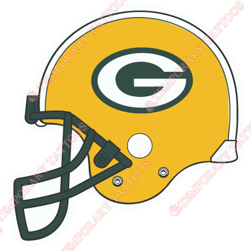 Green Bay Packers Customize Temporary Tattoos Stickers NO.531