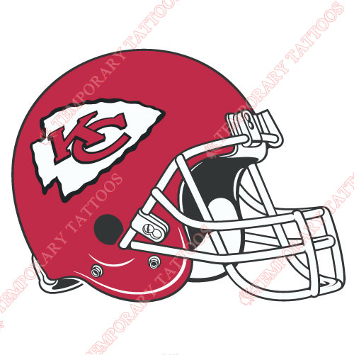 Kansas City Chiefs Customize Temporary Tattoos Stickers NO.571