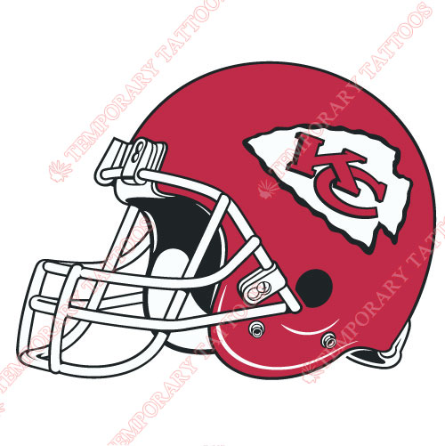 Kansas City Chiefs Customize Temporary Tattoos Stickers NO.572