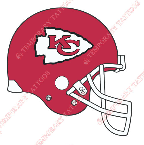 Kansas City Chiefs Customize Temporary Tattoos Stickers NO.573