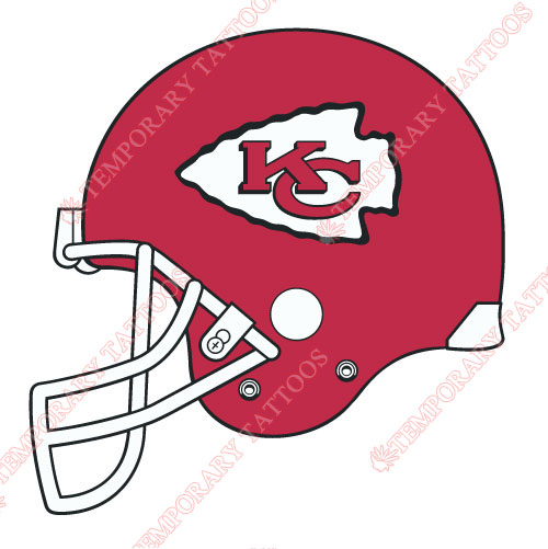 Kansas City Chiefs Customize Temporary Tattoos Stickers NO.574