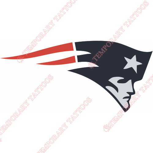 New England Patriots Customize Temporary Tattoos Stickers NO.599