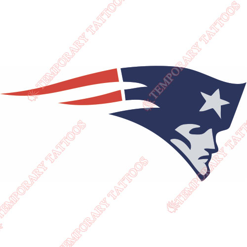 New England Patriots Customize Temporary Tattoos Stickers NO.600