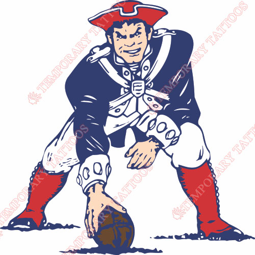 New England Patriots Customize Temporary Tattoos Stickers NO.601