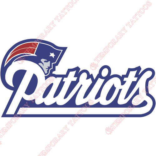New England Patriots Customize Temporary Tattoos Stickers NO.602