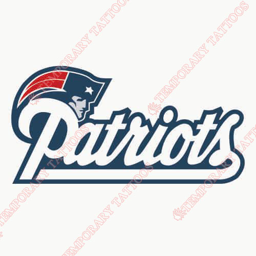 New England Patriots Customize Temporary Tattoos Stickers NO.603