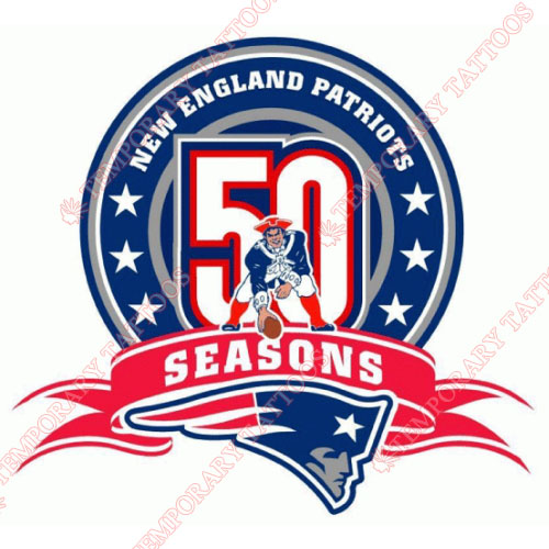 New England Patriots Customize Temporary Tattoos Stickers NO.604