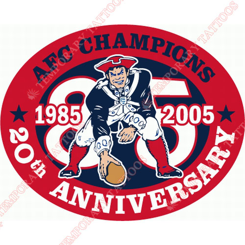New England Patriots Customize Temporary Tattoos Stickers NO.605