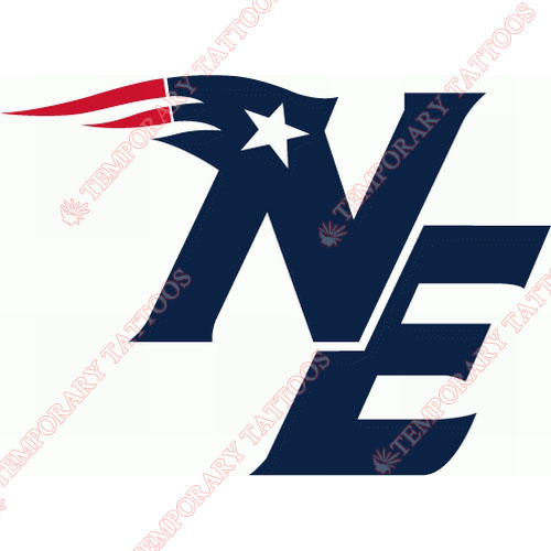 New England Patriots Customize Temporary Tattoos Stickers NO.606