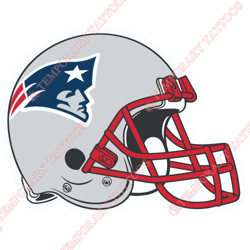 New England Patriots Customize Temporary Tattoos Stickers NO.607