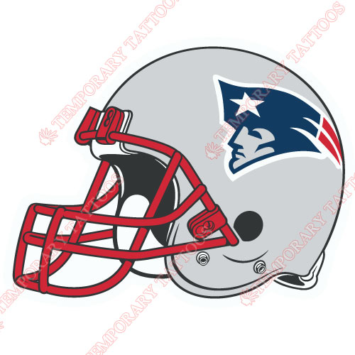 New England Patriots Customize Temporary Tattoos Stickers NO.608