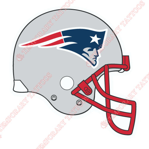 New England Patriots Customize Temporary Tattoos Stickers NO.609