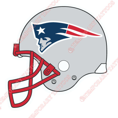 New England Patriots Customize Temporary Tattoos Stickers NO.610