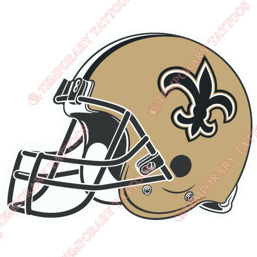 New Orleans Saints Customize Temporary Tattoos Stickers NO.620