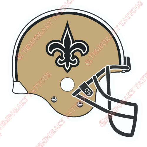 New Orleans Saints Customize Temporary Tattoos Stickers NO.621