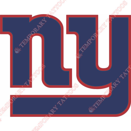 New York Giants Customize Temporary Tattoos Stickers NO.623