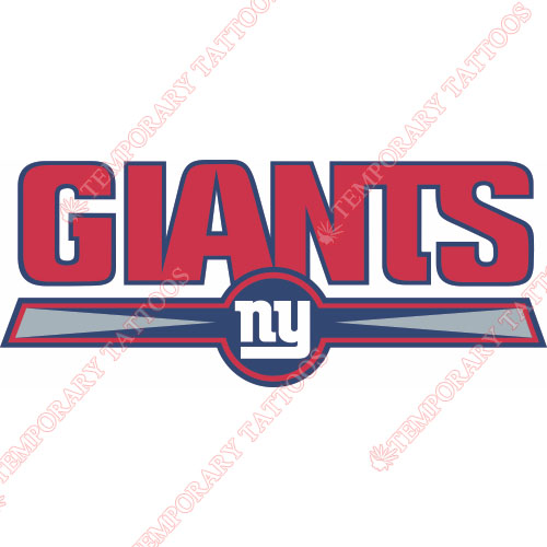 New York Giants Customize Temporary Tattoos Stickers NO.626