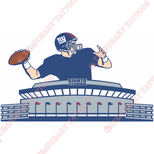 New York Giants Customize Temporary Tattoos Stickers NO.628