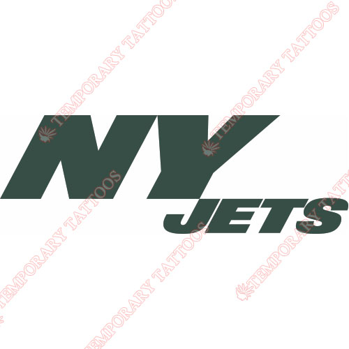 New York Jets Customize Temporary Tattoos Stickers NO.635