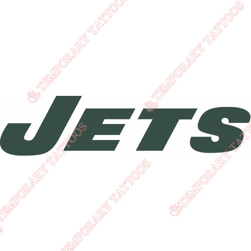 New York Jets Customize Temporary Tattoos Stickers NO.636