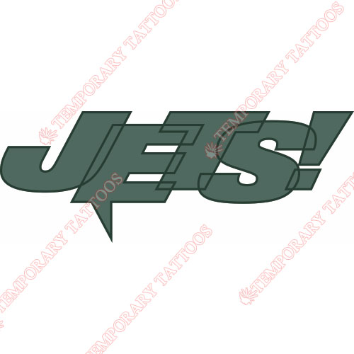 New York Jets Customize Temporary Tattoos Stickers NO.637