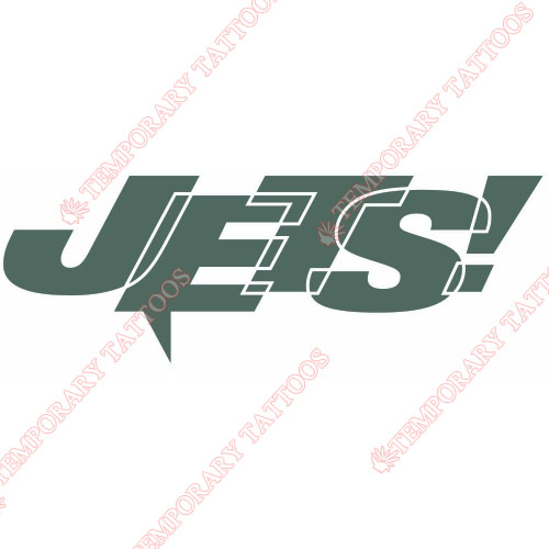 New York Jets Customize Temporary Tattoos Stickers NO.638