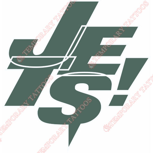 New York Jets Customize Temporary Tattoos Stickers NO.640