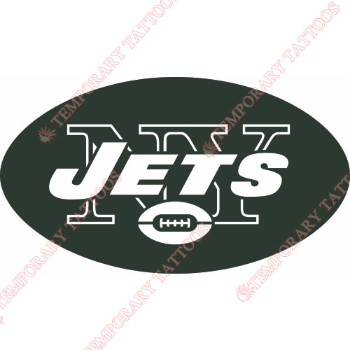 New York Jets Customize Temporary Tattoos Stickers NO.642