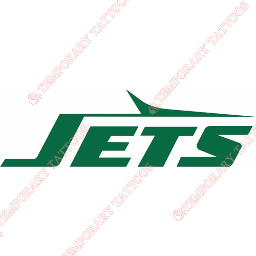 New York Jets Customize Temporary Tattoos Stickers NO.643