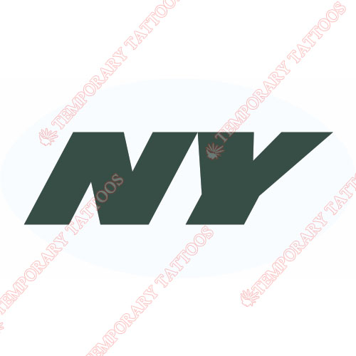 New York Jets Customize Temporary Tattoos Stickers NO.644