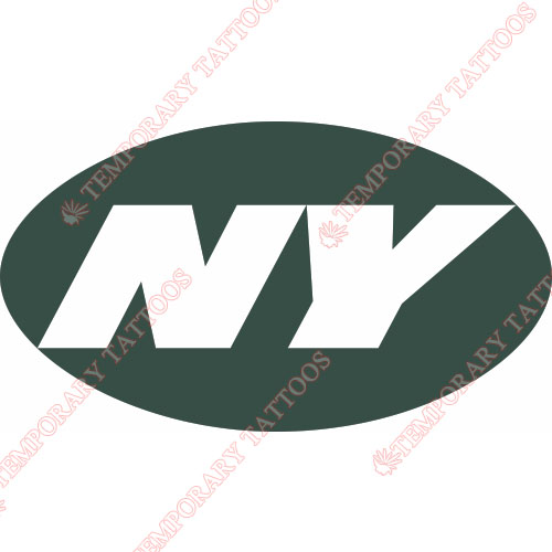 New York Jets Customize Temporary Tattoos Stickers NO.645