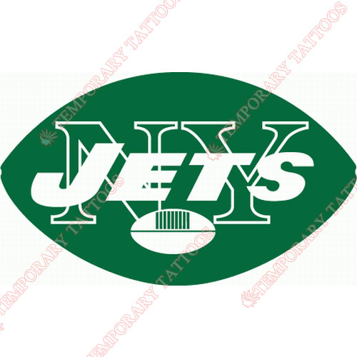 New York Jets Customize Temporary Tattoos Stickers NO.646