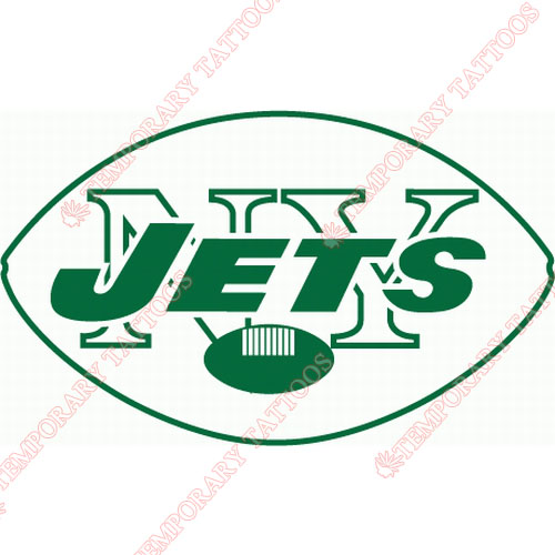 New York Jets Customize Temporary Tattoos Stickers NO.647