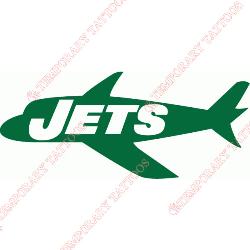 New York Jets Customize Temporary Tattoos Stickers NO.648