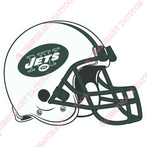 New York Jets Customize Temporary Tattoos Stickers NO.650