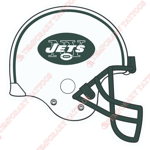 New York Jets Customize Temporary Tattoos Stickers NO.652