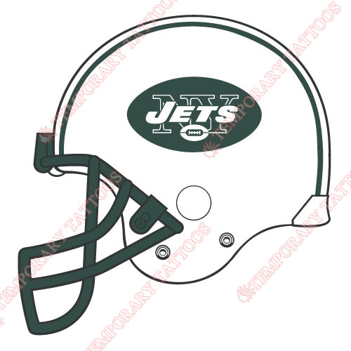 New York Jets Customize Temporary Tattoos Stickers NO.653