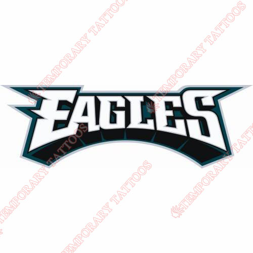 Philadelphia Eagles Customize Temporary Tattoos Stickers NO.671