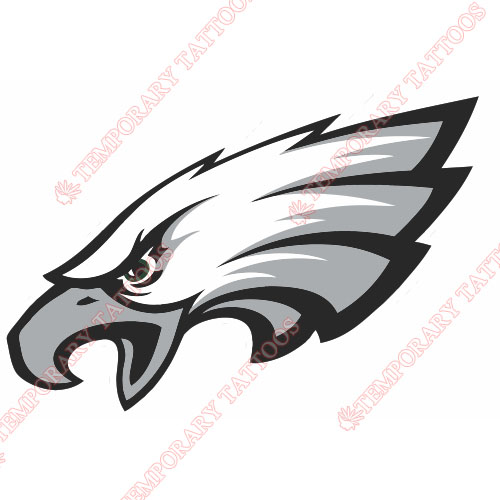 Philadelphia Eagles Customize Temporary Tattoos Stickers NO.672