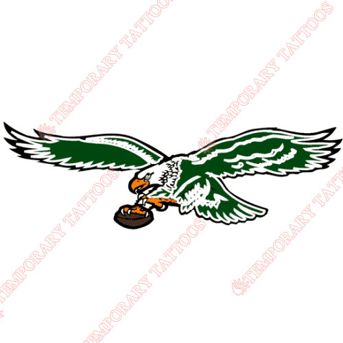 Philadelphia Eagles Customize Temporary Tattoos Stickers NO.675