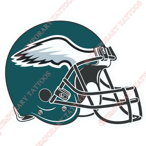 Philadelphia Eagles Customize Temporary Tattoos Stickers NO.677