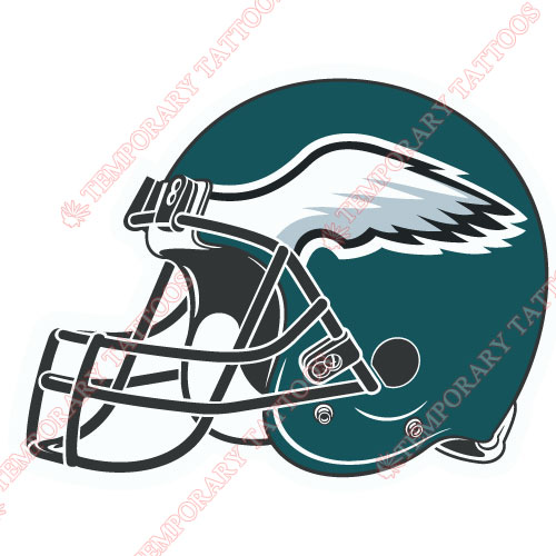 Philadelphia Eagles Customize Temporary Tattoos Stickers NO.678