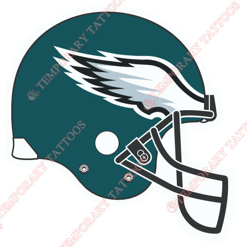 Philadelphia Eagles Customize Temporary Tattoos Stickers NO.679