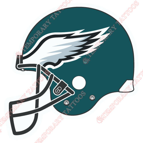 Philadelphia Eagles Customize Temporary Tattoos Stickers NO.680
