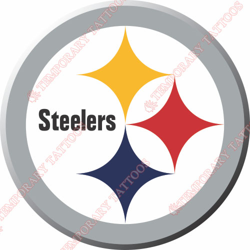 Pittsburgh Steelers Customize Temporary Tattoos Stickers NO.683