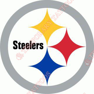 Pittsburgh Steelers Customize Temporary Tattoos Stickers NO.684