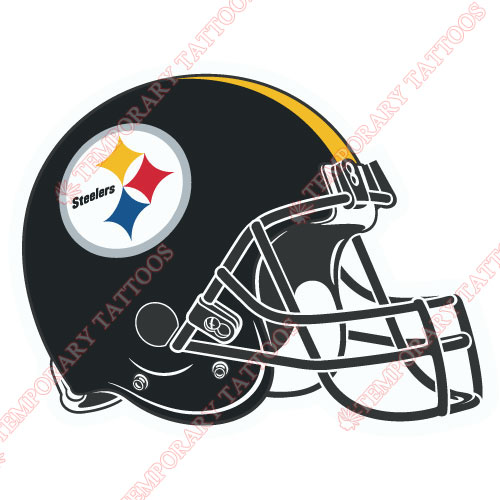 Pittsburgh Steelers Customize Temporary Tattoos Stickers NO.685