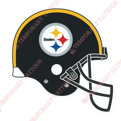 Pittsburgh Steelers Customize Temporary Tattoos Stickers NO.687